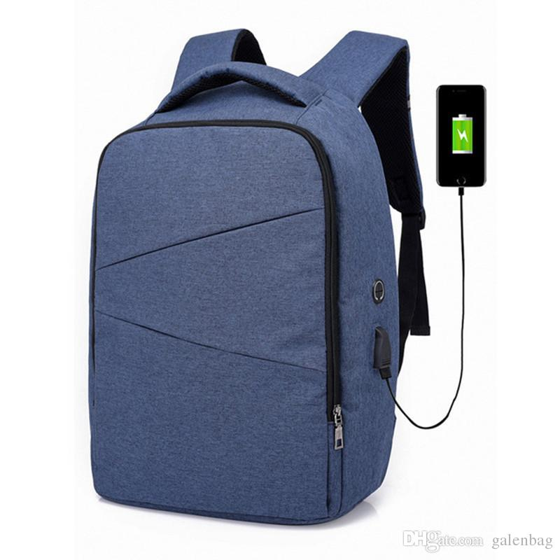 a45f56ee7969 Laptop Travel School Bags Larger Volume Capacity Casual Lightweight  Rucksack Computer Bag with USB Charging Port