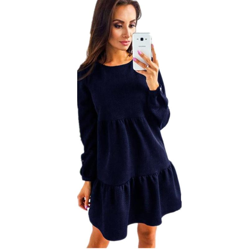 Mini Femme Robe Vintage Pour Acheter Automne Tunique Hiver 2017 jcAL53R4q