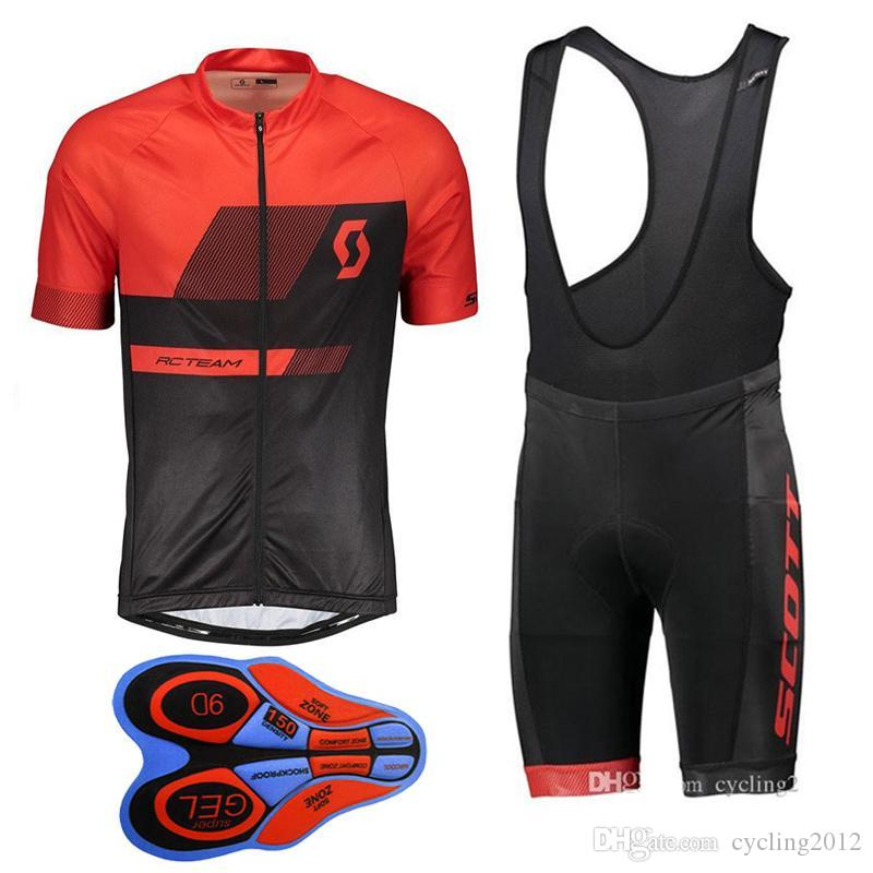 2018 New SCOTT Summer Mountain Bike Short-sleeved Cycling Jersey Kit ... 06b832e6a