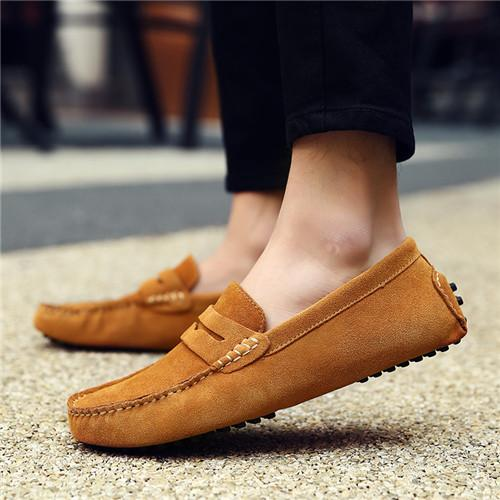 6282e307219 2018 Men Comfortable Soft Slippers Slip-on Loafters Shoes Size US6-13  AK2088 Men Loafer Driving Shoes Men Casual Shoes Online with  43.11 Pair on  ...