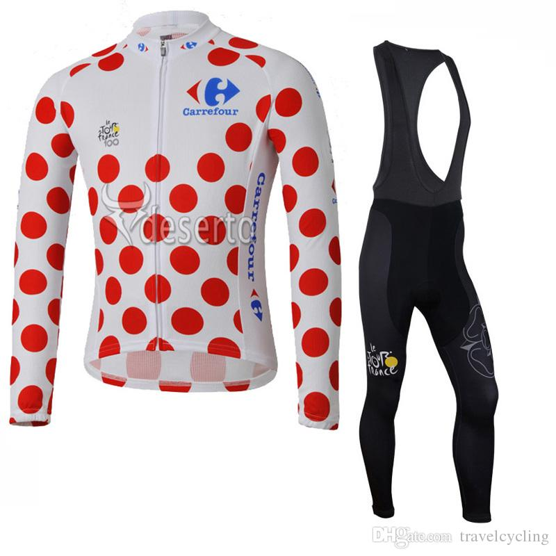 High Quality Men Tour De France Cycling Jerseys Suit Breathable Quick Dry  Long Sleeve Autumn Racing Bike Clothing Bicycle Clothes 111601Y Biking  Pants ... 062ba5563
