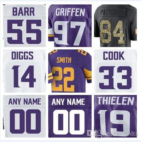 d750eb9ac ... discount 2018 2018 minnesota american vikings football jerseys stefon  diggs harrison smith dalvin cook everson griffen