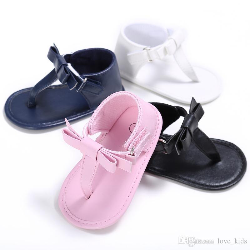 963d67ce93c Acheter Bébé Filles Sandales Mignonnes Tongs Jolies Sandales Anti Dérapant  Infantile Doux Bambin Enfants Chaussures Été Bébé Sandales De  4.37 Du  Love kids ...
