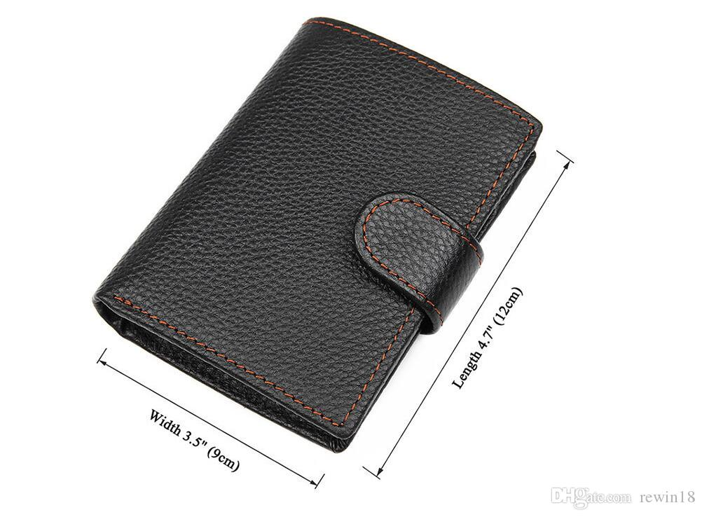 sports shoes 58454 1dd8b 2 ID Window Wallet for Men, Coin Pocket purse, Extra Capacity Travel Wallet