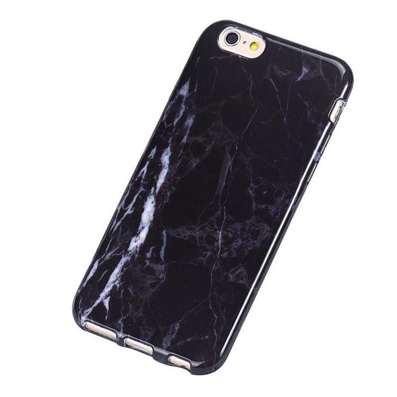 Alta qualidade tpu mármore pele tampa traseira shell solf case para iphone x 7g 8g 6 s plus samsung s8 s9 plus