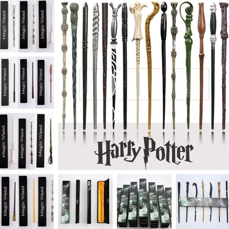 2019 New 25 Styles Harry Potter Wand Magic Props Hogwarts Harry Potter  Series Magic Wand Harry Potter Magical Wand With Gift Box From Tina310, ...