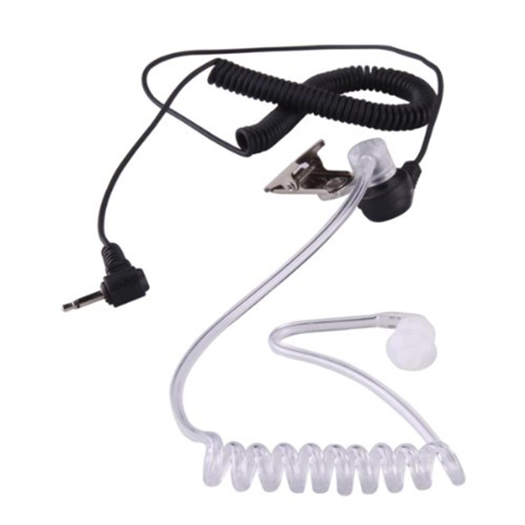 Marsnaska 2016 2 5mm Security Acoustic Tube Earpiece Professional Headset  Mic 1 Pin for Ham Radio Wholesale