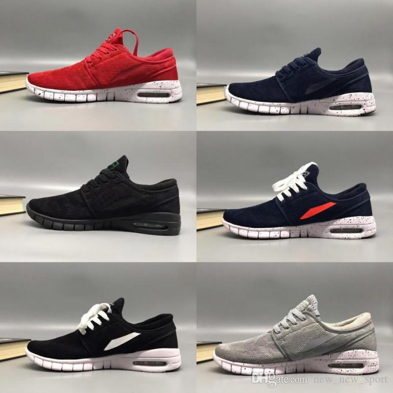 2018 SB Stefan Janoski Shoes Men Women Running Shoes Maxes High Quality  Athletic Sports Mens Trainers Air Designer Sneakers Size 36 45 Shoes On  Sale Ladies ... 3232a54dde