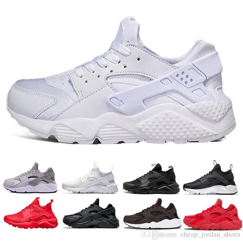 54c07e5df0d3d 2018 Huarache Ultra Run Shoes Triple White Black Men Women Running Shoes  Red Grey Huaraches Mens Trainers Sports Shoes Sneakers Size 36 45 Shoe  Shopping ...