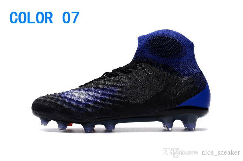 New High Ankle Magista obra II FG Men Top Soccer Cleats 3D ACC Waterpoof Mens Soccer Shoes Outdoor ICE Suprefly Football Shoes Soccer Boots