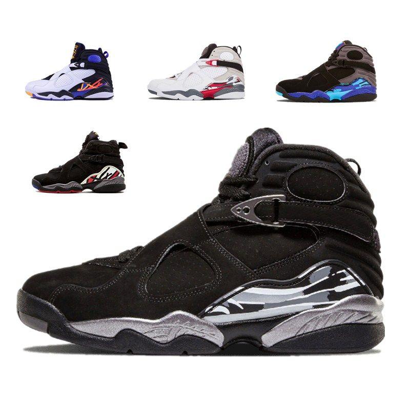 4595823676d Best Quality NEW Chrome 8 8s Men Basketball Shoes Aqua Countdown ...