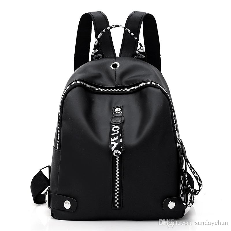 Waterproof Oxford Backpack Women New Comfortable Backpack Leisure ... 4557a02a7dbfb