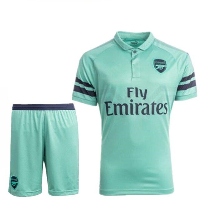 Compre Arsenal Segunda Camiseta De Visitante Para La Temporada 2018 19 ARS  MKHITARYAN DEBUCHY GIBBS OZIL RAMSEY MERTESACKER AUBAMEYANG M.ELNENY XHAKA  Traje ... d5a8087560e41