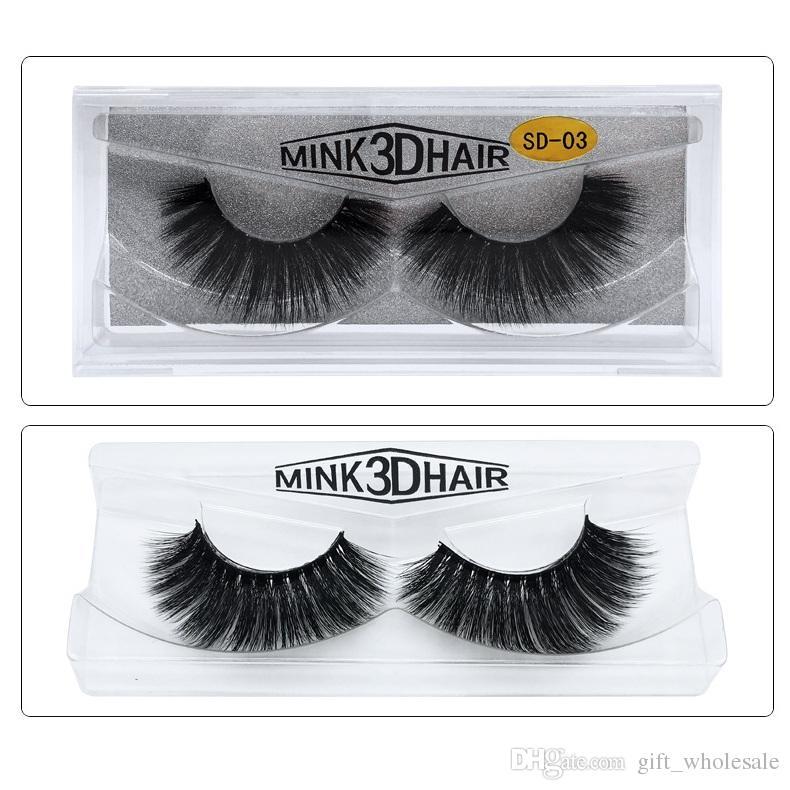 acefa44000b 3d Mink Lashes Thick Real Mink False Eyelashes Natural For Beauty Makeup  Extension Fake Eyelashes False Lashes Canada 2019 From Gift_wholesale, ...