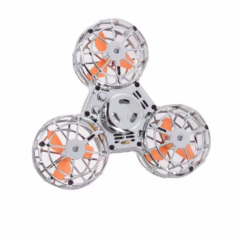 Flying fidget Spinner Electric Fingertip spinning gyro that can really fly Decompression toys