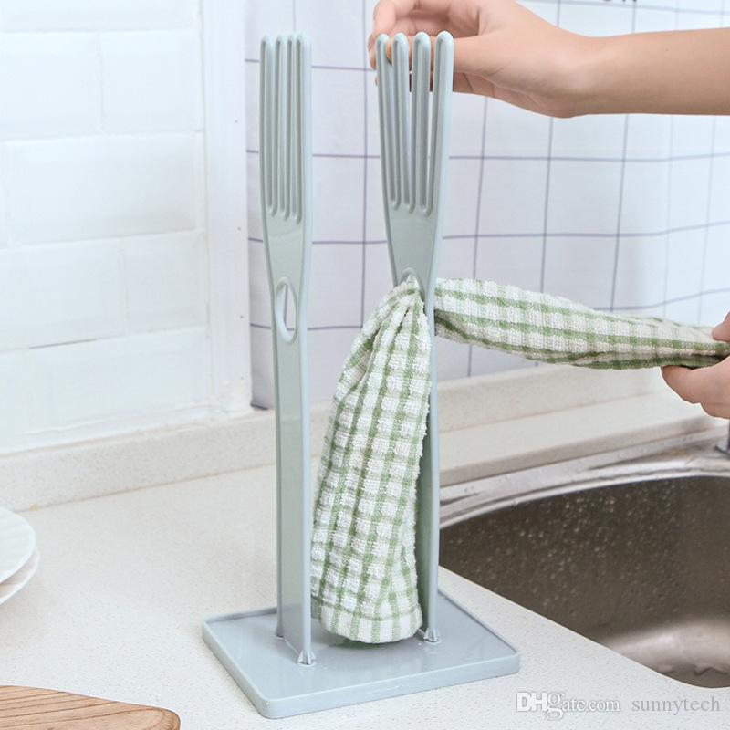 Glove Rack Drying Drain Water Gloves Stand Holder Dish Kitchen Tools Household Gloves Drying Accessories Rack Storage Plastic LZ1621