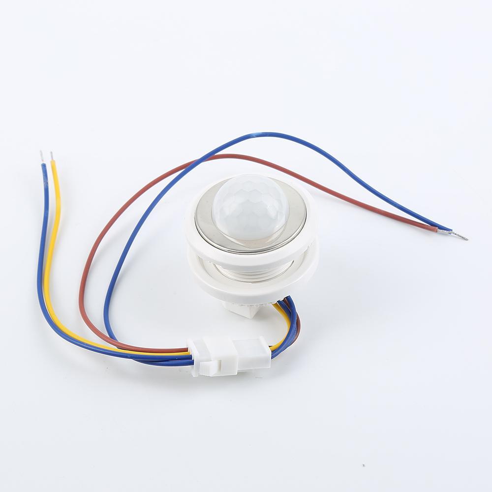 Ray Motion Sensor Light Lamp Smart Switch Pir Infrared Delay ...