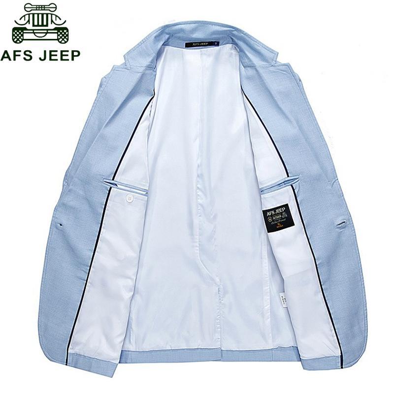 Afs Jeep Brand Jacket Men Blazers Jackets Coats Solid Slim Fit Army Military Men's Jackets Windbreaker Size M-2XL Veste Homme