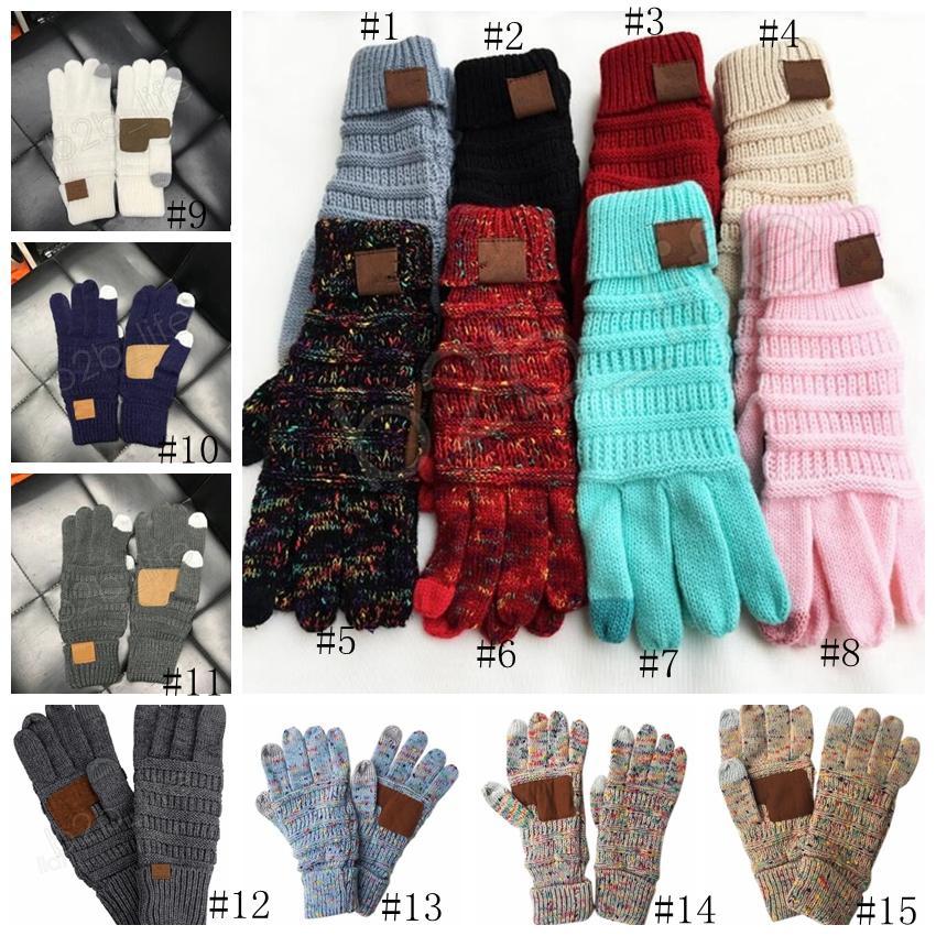 Großhandel Stricken Handschuhe Gestrickt Touchscreen Handschuh ...