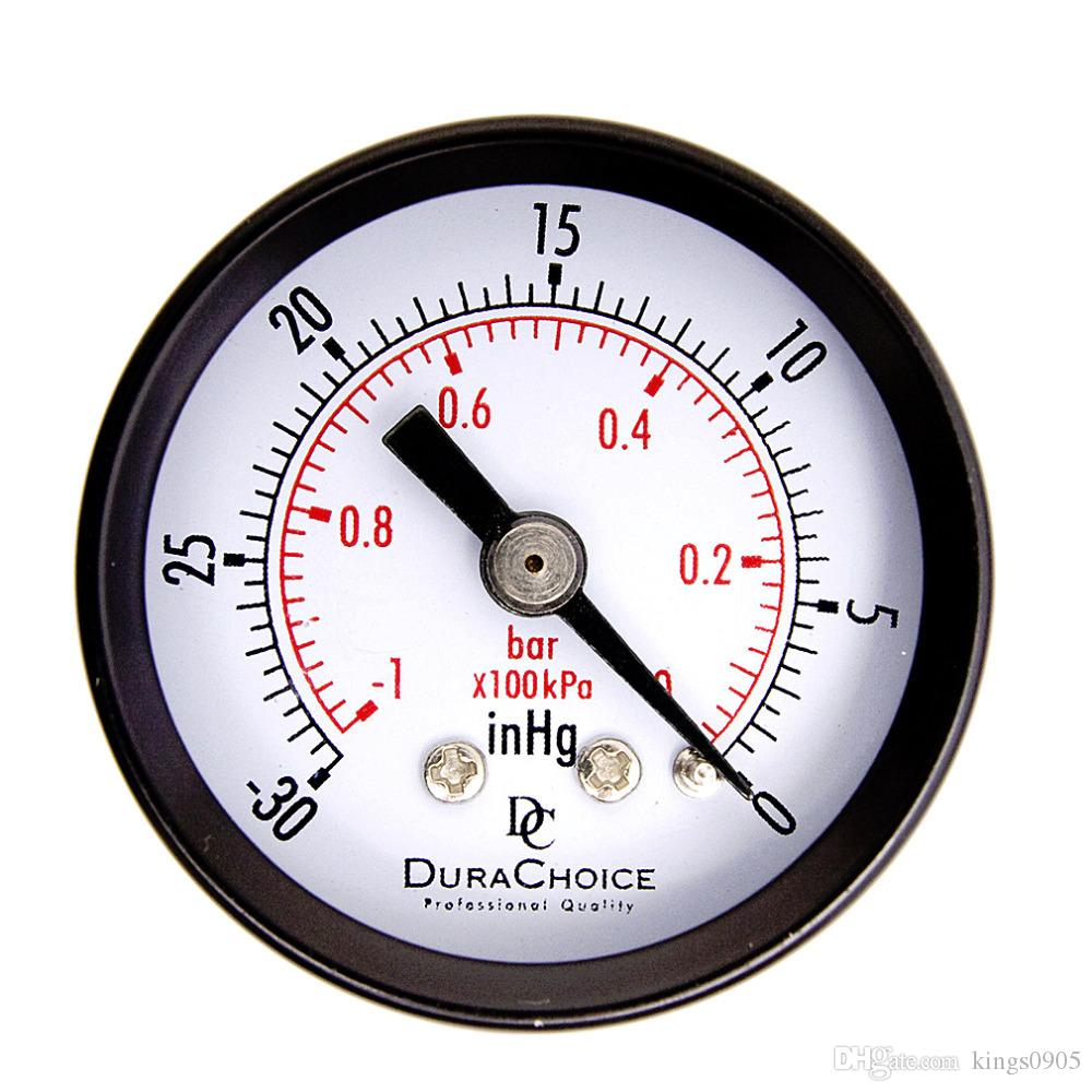 Double Scale Vacuum Manometer Mini Dial Air Vacuum Pressure Gauge ...
