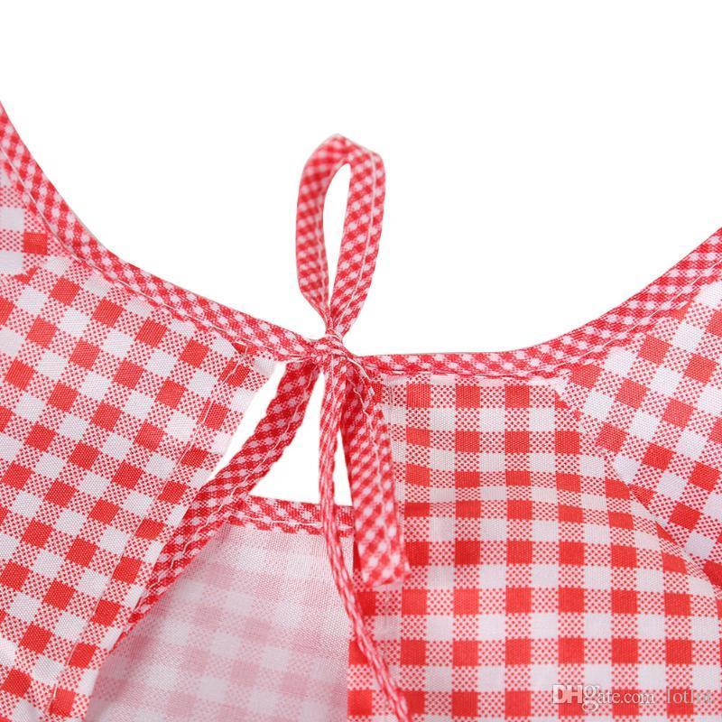 성인 여성 앞치마 귀여운 주방 앞치마 긴 소매 2 포켓 안티 기름 방수 턱받이 주방 앞치마 가정용 청소 액세서리