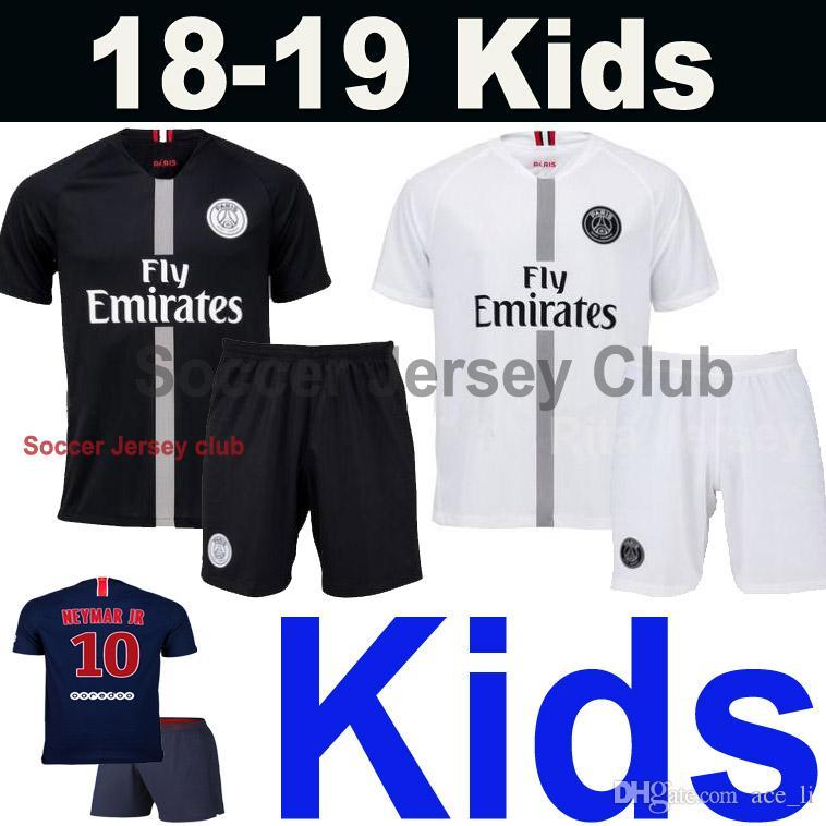 Compre PSG Niños 2018 2019 PARIS SAINT GERMAIN Camiseta De Fútbol Chicos 18  19 Kids Soccer Jersey Football Home Shirts NEYMAR JR MBAPPE CAVANI DI MARIA  T ... 6c51e1ef3b206