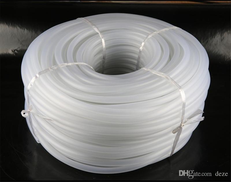 1 метр 8 мм 10 мм 18 мм прозрачный аквариум воздушный насос гибкая авиакомпания трубки силиконовые трубки Аквариум водяной насос кислородные трубки шланг трубы