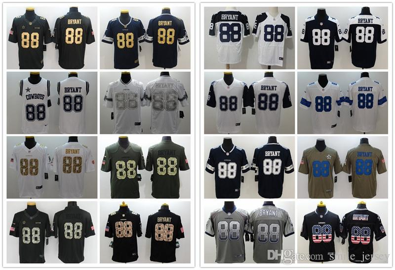 2018 Mens 88 Michael Irvin Dallas Jersey Cowboys Football Jersey 100%  Stitched Embroidery Michael Irvin Color Rush Football Stitching Jersey From  ... 74bac9990
