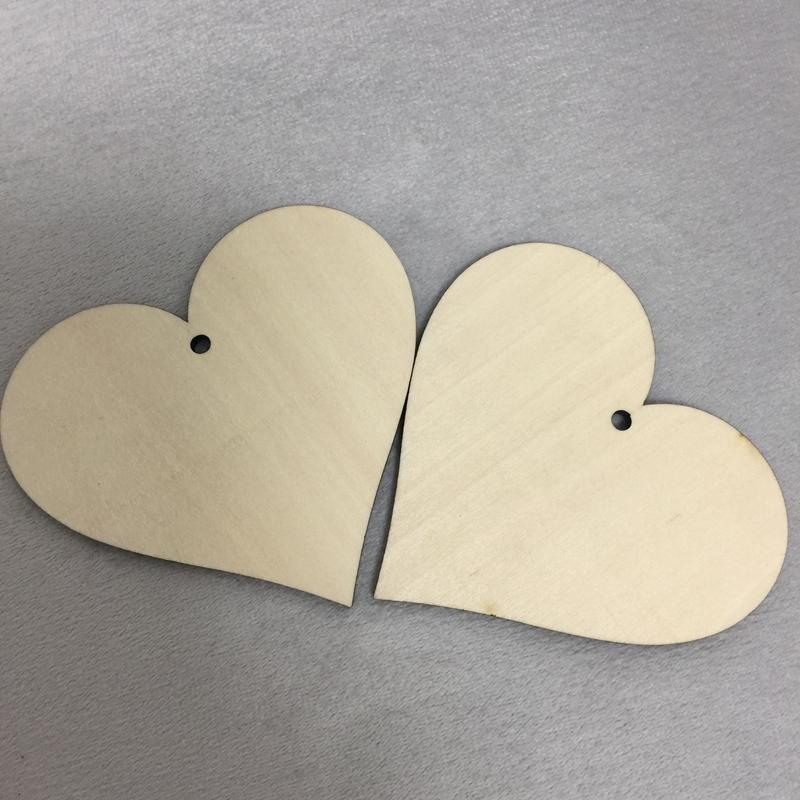 Wooden Ply Wood Craft Shapes Love Heart Plaques Valentine Signs Blank Hearts
