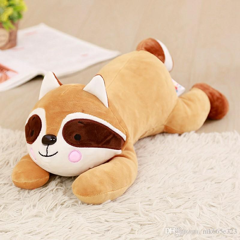 Stuffed Fox Plush Toys Cute Long tail Fox Stuffed Animal Toy for Baby Girl Boy Kids Birthday Gifts 40cm