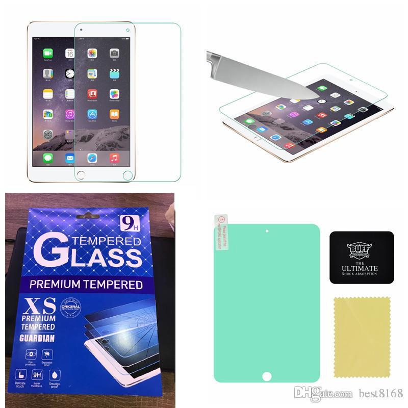 Freier BUFF Ultimativer Schirm-Schutz für iPad Luft 5 Air2 6/2 3 4 / Ipad Mini 1 2 3 Stoßdämpfung explosionsgeschützt mit Kleinpaket