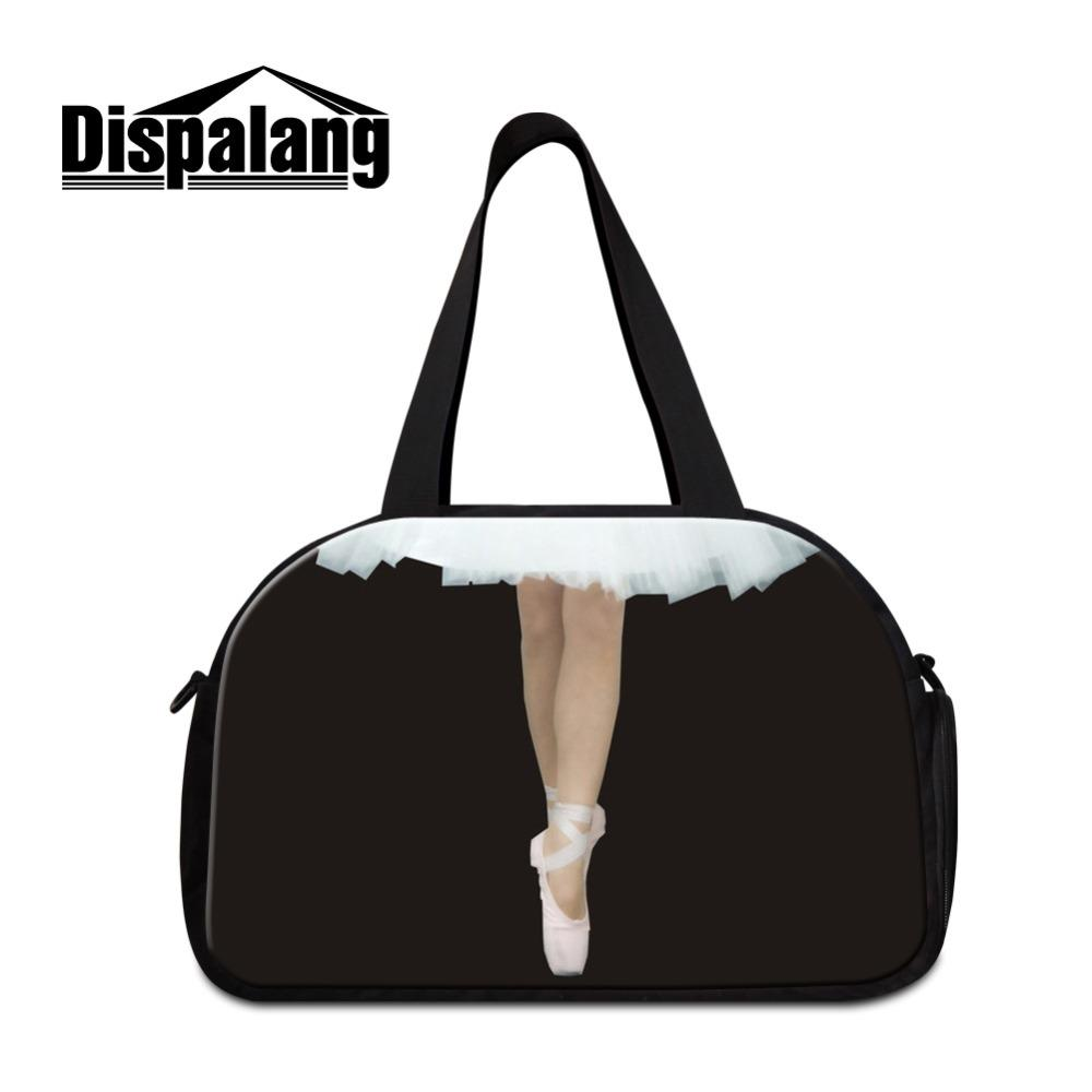 dd0a8b7a6863 Women Custom Travel Bags Dancing Ballet Girl Designer Shoulder Duffle With  Shoes Pocket Ladies Crossbody Messenger Weekender Bag Toiletry Bags Best Gym  Bags ...