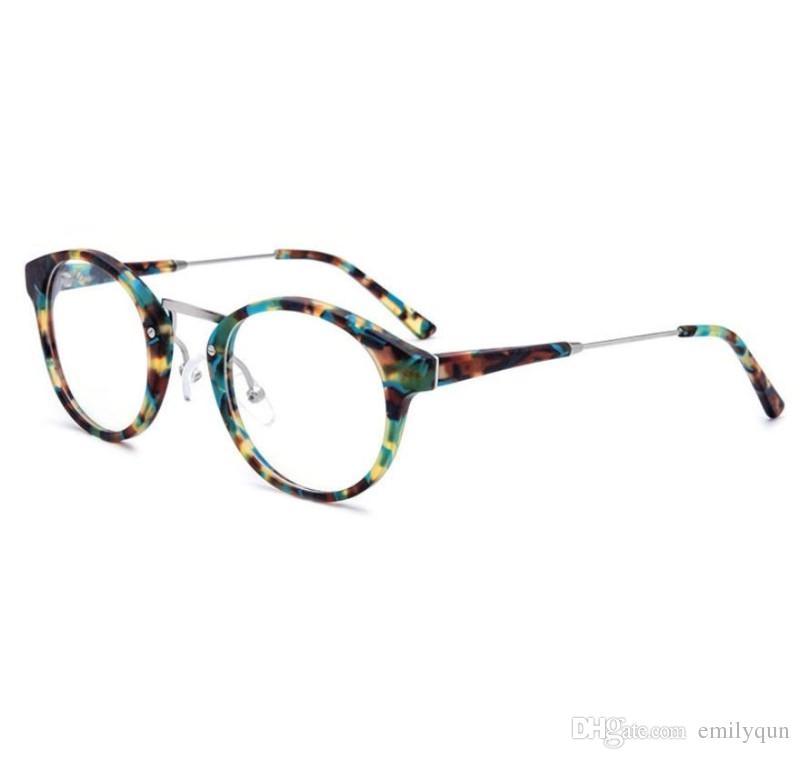 41eafb26f33 Optical Frames Glasses Brand Designer Men Women Retro Round ...