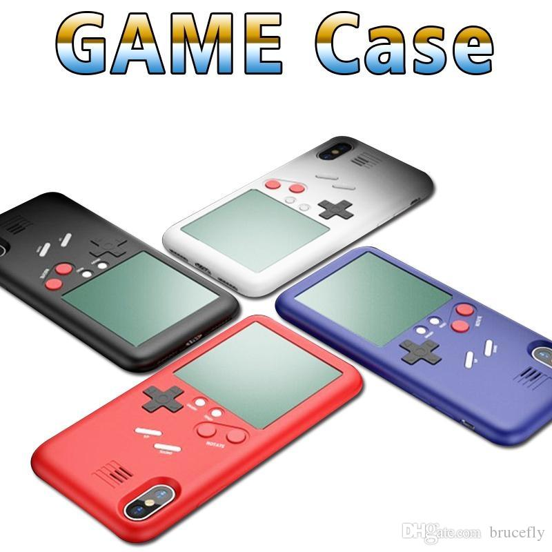 UYG Tetris Game Phone Cases For Iphone X TPU Case For Iphone 7 6 S 8 8 Plus Game Console Protection Cover Cases