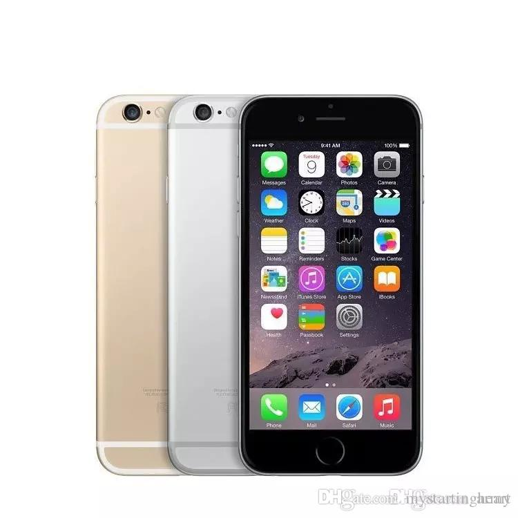 100% Original Refurbished Apple iPhone 6 Plus Touch ID 64GB iOS 8.0 5.5 inch Retina Screen 1920*1080 FHD GPS 4G LTE Smartphone