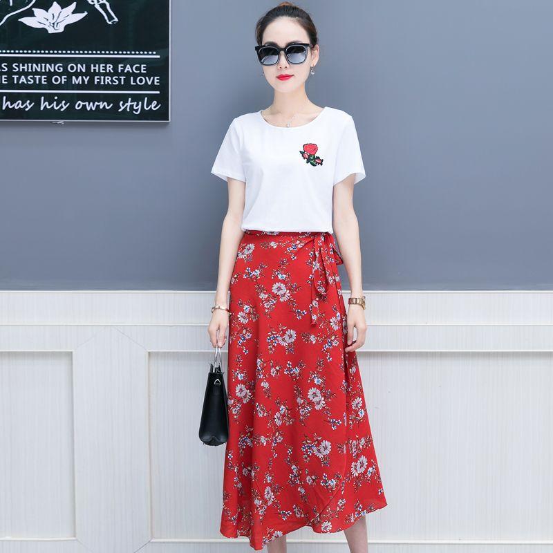 2019 New Summer 2018 Wear Women S Clothes Korean Fashion White T