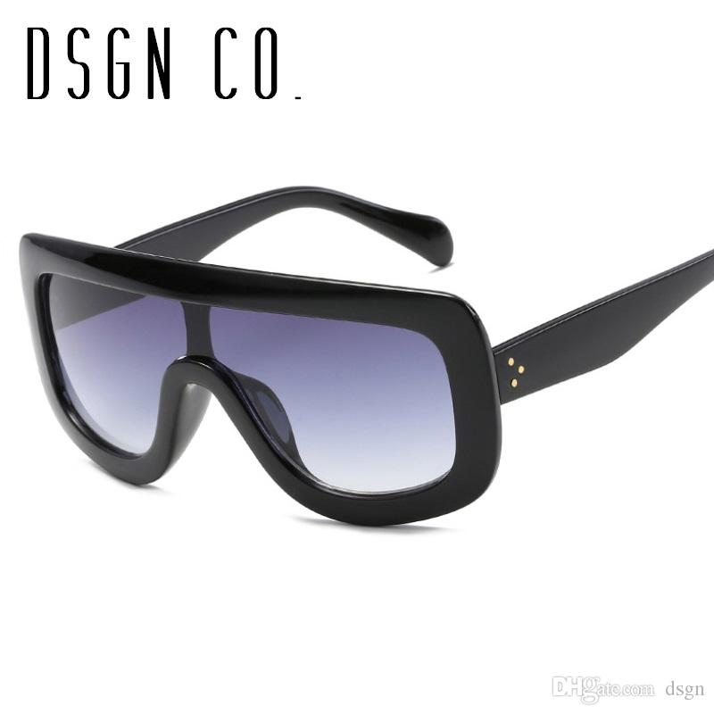 82d2685631 2018 Trendy Large Goggle Designer Sunglasses For Men And Women Fashion Brand  Woman Sun Glasses UV400 Dragon Sunglasses Vintage Sunglasses From Dsgn