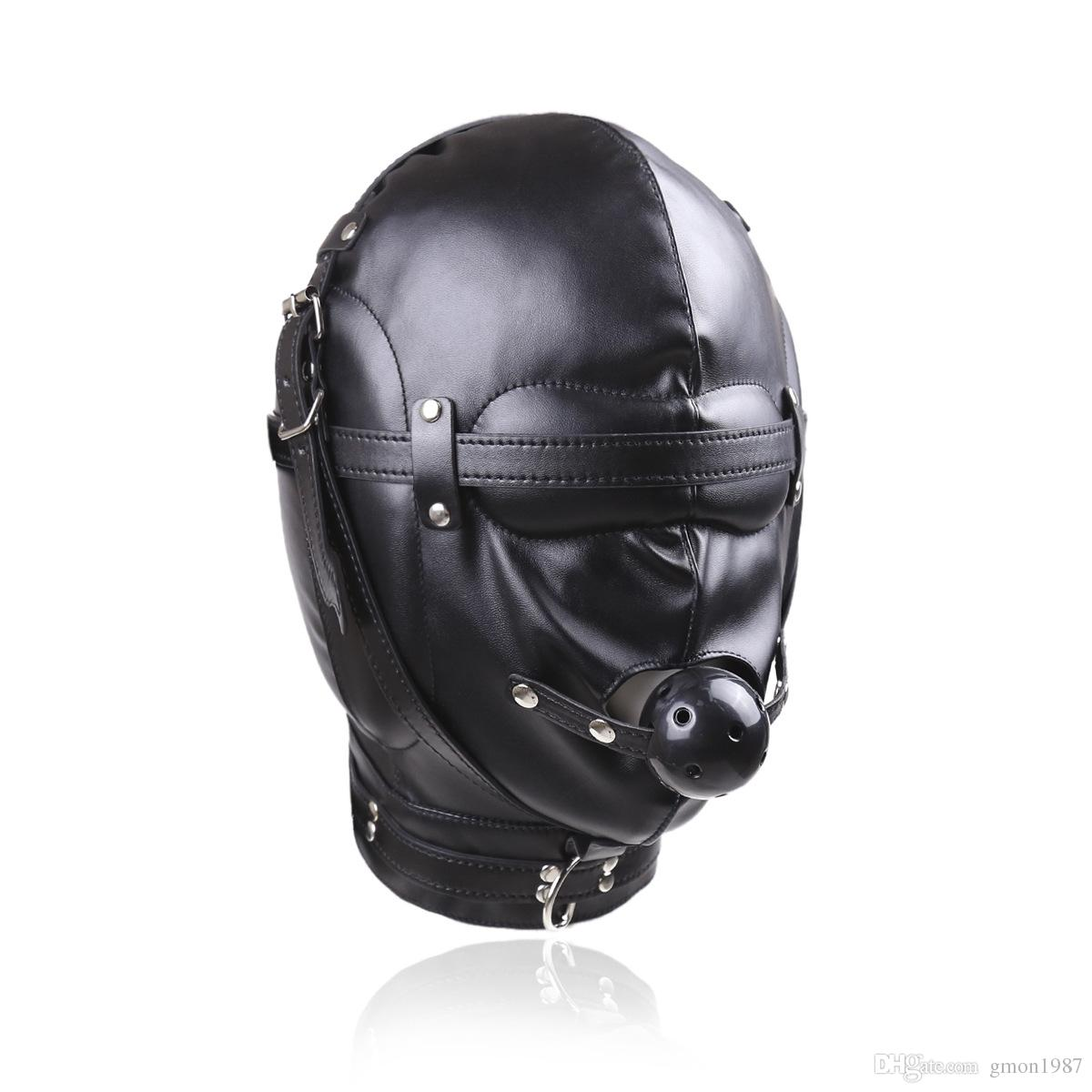 German BDSM play with masked guy
