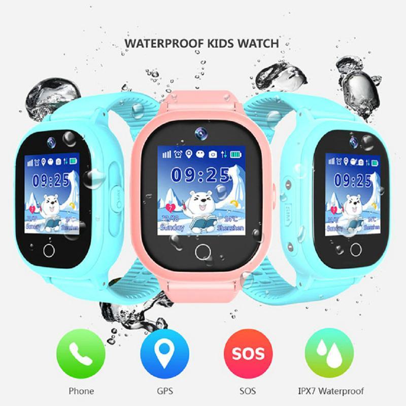 dfdf73844c29 Relojes Originales IP67 A Prueba De Agua TD06S GPS Reloj Para Niños  Posicionamiento De Teléfonos Moda 1.3 Pulgadas Pantalla Táctil A Color SOS  Bebé Reloj ...
