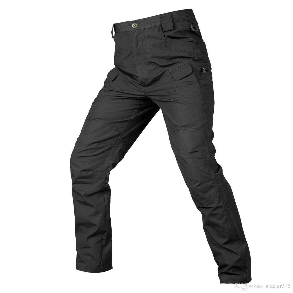 Shanghai Story 2018 Men Tactical Pants Mens Blend Cotton Army Cargo Pants SWAT Combat Hike cargo pants Trouser IX7