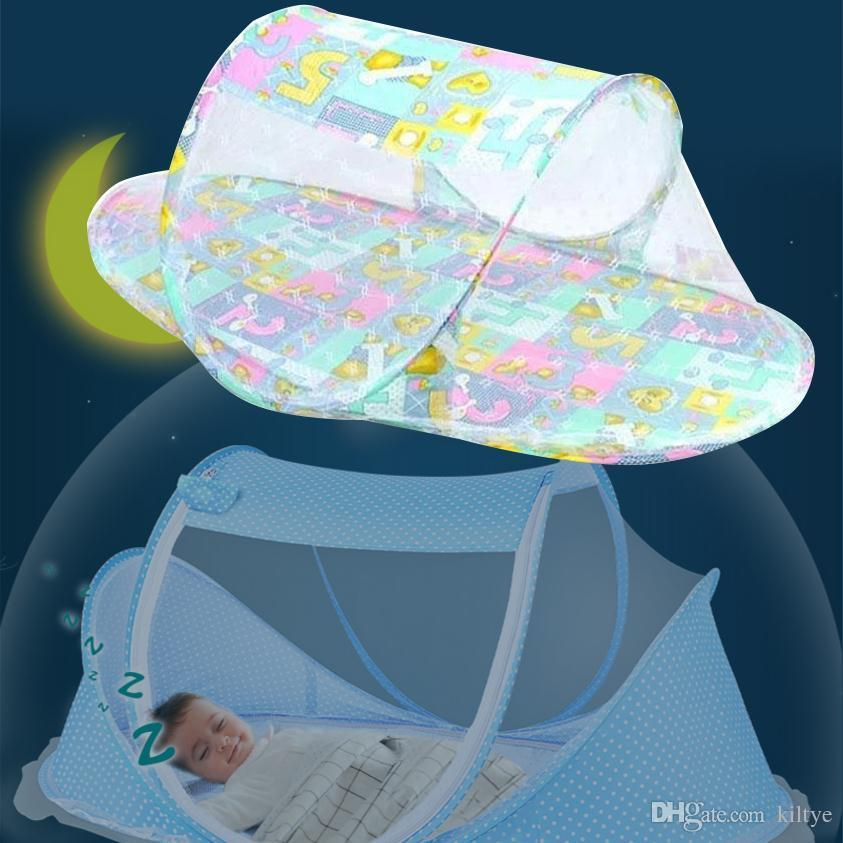Mosquito Net Boat Ship Shape Baby Multicolour Infant Crib Bed Steel