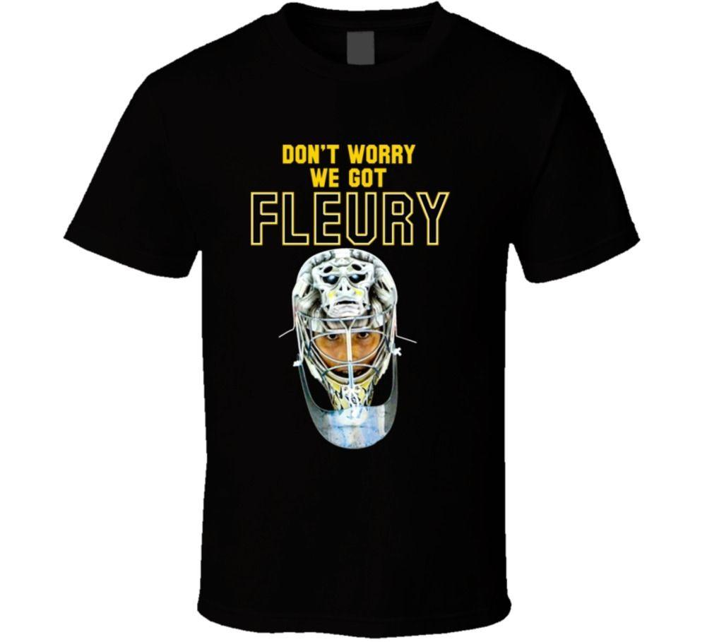 40331b70a68 Marc Andre Fleury Pittsburgh Hockey Goalie T Shirt Coolest Tee Shirts Cool T  Shirts Design From Bstdhgate04