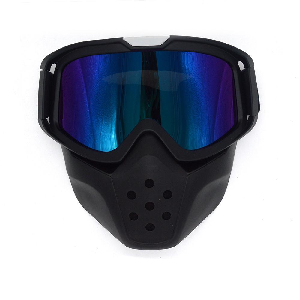 Großhandel Evomosa Schwarz Farbe Rahmen Goggles Abnehmbare Maske ...