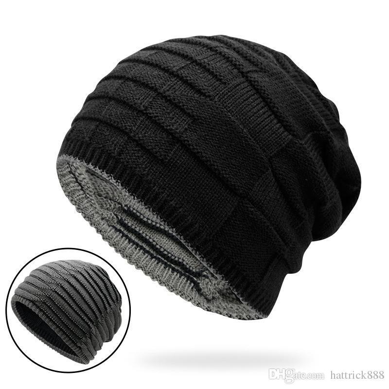 cc4fbc0cc3d 2018 Unisex CC Trendy Hats Winter Knitted Fur Poms Beanie Label ...