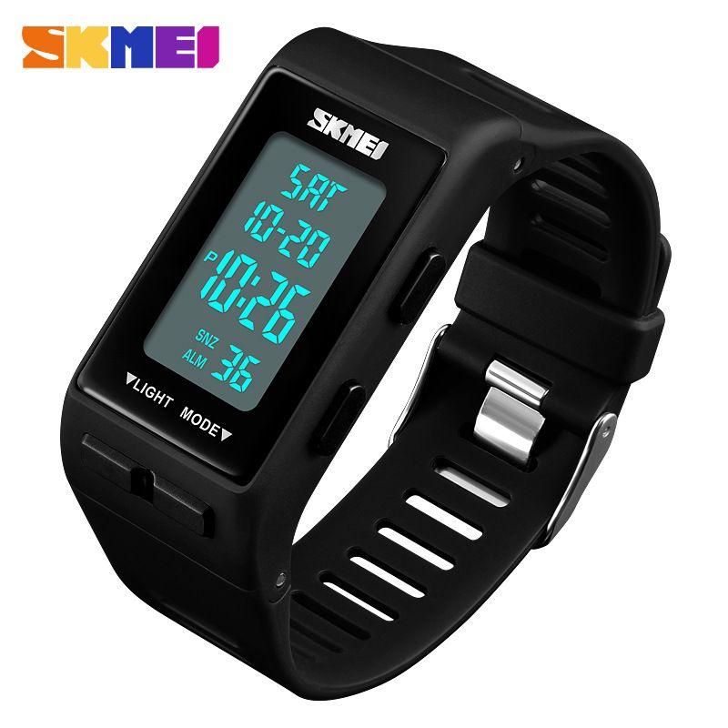 a0eabe81112a Compre Moda Joven Pulsera LED Relojes Digitales Para Hombres Señoras ...