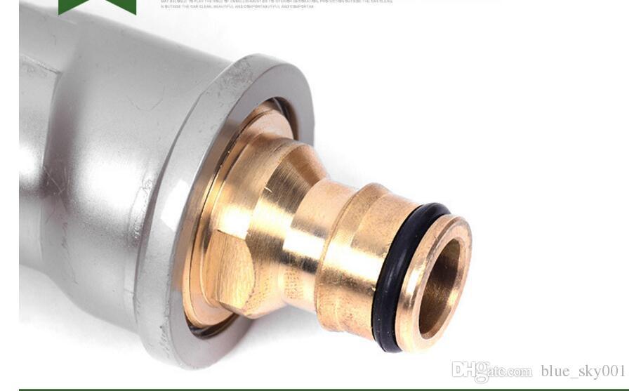 Hot!!! High pressure washing car Water gun head Garden watering tool pure copper alloy electroplated water gun head