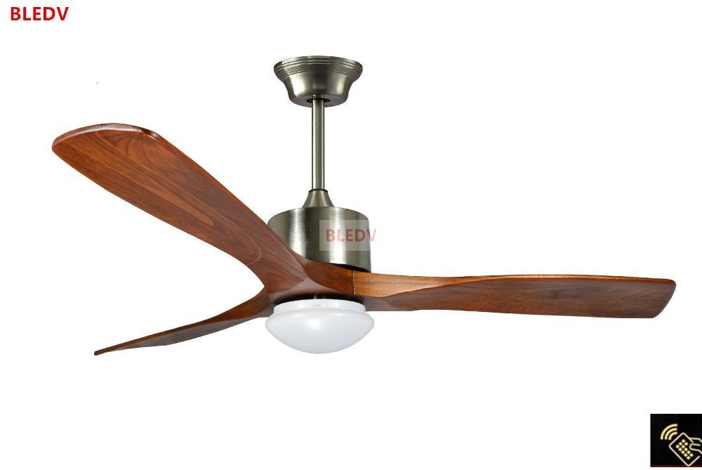 Acquista ventilatore da soffitto in legno villaggio 52 pollici con
