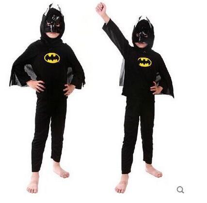 grosshandel zubehor cosplay kostume kinder superhelden kostum spiderman batman superman set kleidung jungen geburtstag party kinder superhelden