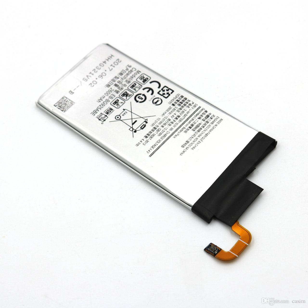 Factory Outlet High Quality Galaxy S6 Edge Battery EB-BG925ABE Phone batterie For Samsung Galaxy S6 Edge Built-in Replacement Bateria Akku