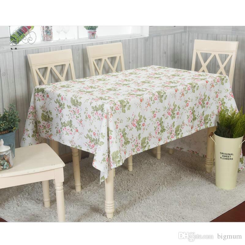 Floral Tablecloth Pastoral Style Fashion Flower Printed Table Cover Decoration Home Dinning Room Desk Cloth Fresh Style Cloth Table Covers Circular ...  sc 1 st  DHgate & Floral Tablecloth Pastoral Style Fashion Flower Printed Table Cover ...